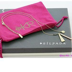 Silpada KR Champagne Necklace